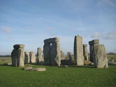 Stonehenge (photo in the public domain from Wikipedia)